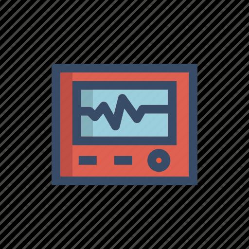 analyze, beat, heartbeat, medical, monitor, monitoring, statistic icon