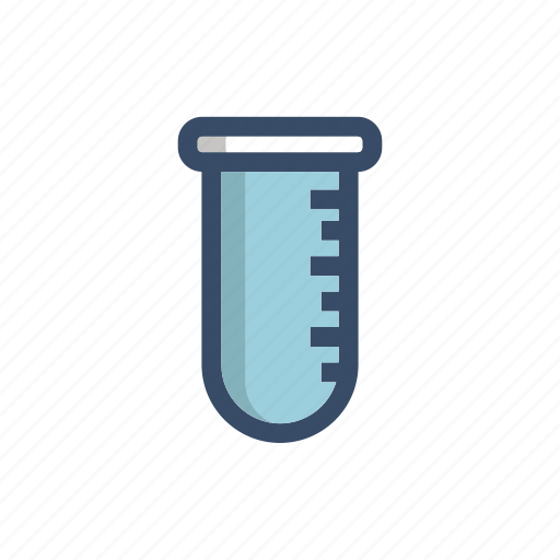biology, blood, chemistry, medical, research, serum, tube icon