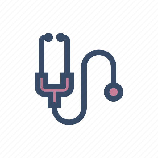 cardiology, device, diagnosis, doctor, heart stethoscope, medical, stethoscope icon