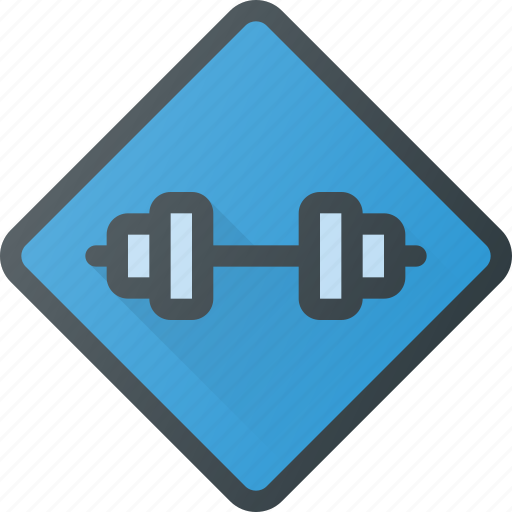 Gym, location, place, sign icon - Download on Iconfinder