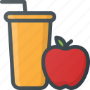 fresh, health, juice, liquid icon