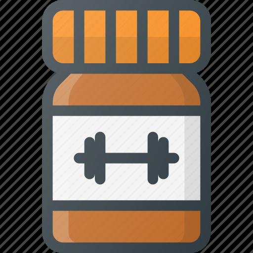 mix, powder, protein, shake icon