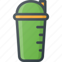 bottle, drink, drinks, fitness, liquid, shaker icon