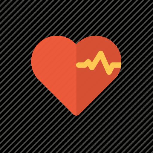 health care, heart, heart analytic, heartbeat, love, romance icon