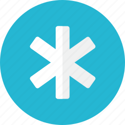 emergency, star icon