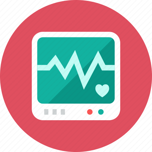 monitor, patient icon