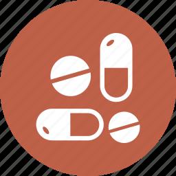 drugs, healthcare, pills icon