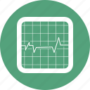 health, heart, heartbeat, medicine, monitor icon