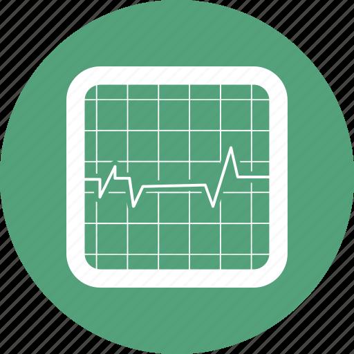 health, heart, heartbeat, medicine, monitor icon