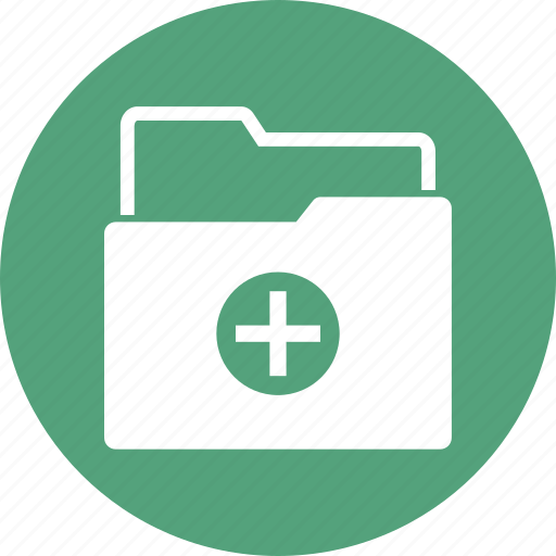 folder, medical, medical document, medical file icon