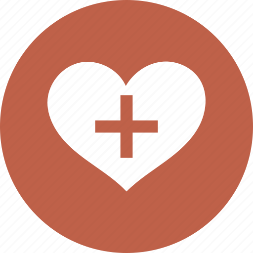 heart, love, medical sign icon