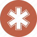 caduceus, medical, medicine, snak icon