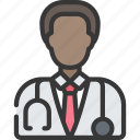 avatar, doctor, health, male, medical, stethescope