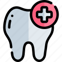emergency, health, healthy, hospital, tooth icon