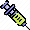 emergency, health, healthy, hospital, syringe icon