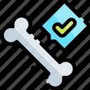 bone, emergency, health, healthy, hospital icon