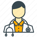 care, doctor, employee, health, hospital, medical icon