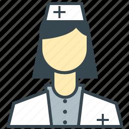 care, employee, health, medical, nurse icon