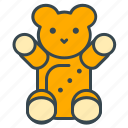 bear, care, child, health, teddy, toy icon