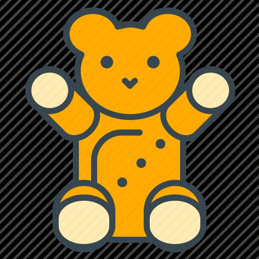 bear, care, child, health, teddy, toy icon