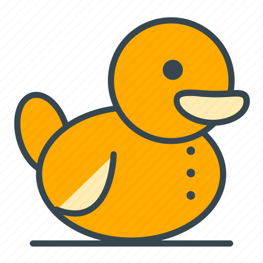bath, care, duck, health, play, toy icon
