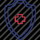 health, security, shield