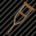 cane, crutch, desability, healthcare, medical