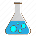flask tube, healthcare, laboratory, medical