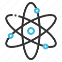 atom, chemistry, molecule, nucleus, science