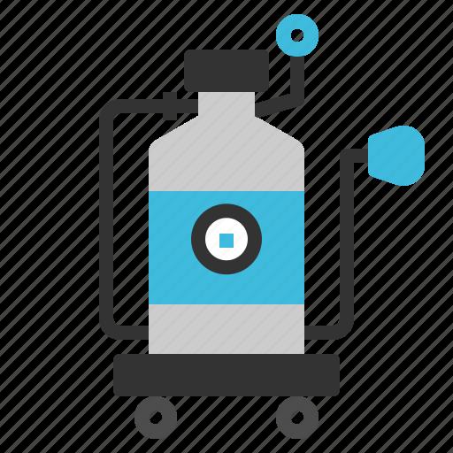 air, gas, oxygen, scuba, tank icon