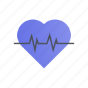 cardiogram, care, healthcare, medical icon