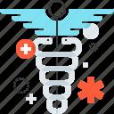 aid, ambulance, caduceus, healthcare, hospital, medicine, symbol