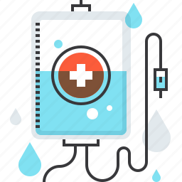 container, donation, emergency, hospital, infusion, medicine, transfusion icon