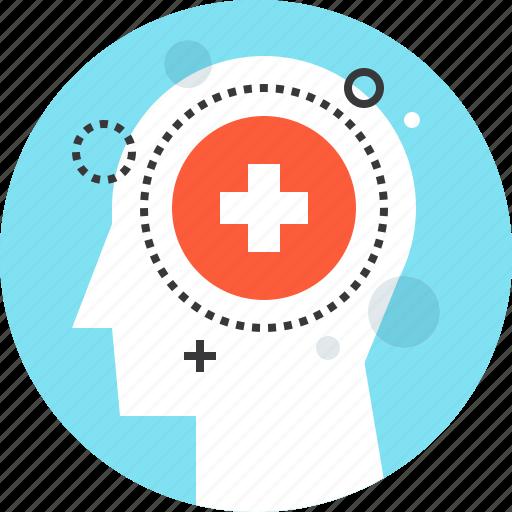 head, health, healthcare, medicine, mental, psychiatry, psychology icon