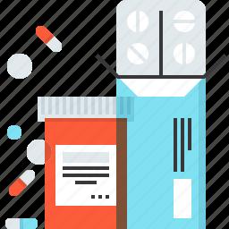 drug, health, medicine, pharmacy, pill, tablet, treatment icon