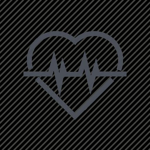 aid, cardiogram, ecg, healthcare, medical icon