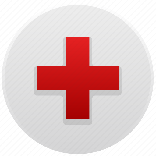 add, aid, ambulance, care, cross, doctor, health, healthcare, help, hospital, medical, medicine, plus, red cross, support icon