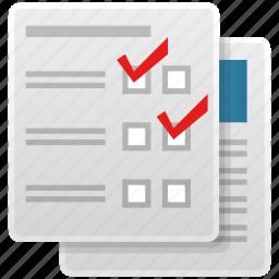 chart, checklist, checkmark, clipboard, diagnosis, exam, health, healthcare, hospital, list, medical, medicine, prescription, receipt, record, report, test icon