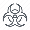 biohazard, danger, science, toxic, virus icon