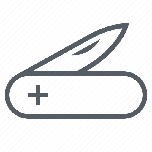 army, blade, knife, pocket, swiss, tool icon