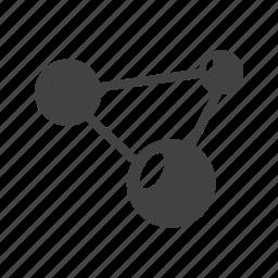 dna, molecular, molecule, molecules, science, structure icon