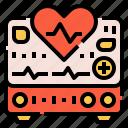 electronics, heart, heartbeat, hospital, monitor, rate