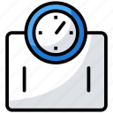 bmi, body weight, weight machine, weight measurement, weight scale icon
