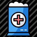 cotton, healthcare tool, hygiene, medical accessory, organic cotton, swab icon