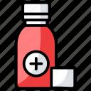 drug, liquid medicine, medication, pharmacology, syrup icon