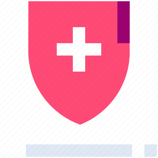 Health, insurance, medical, protection, security, shield icon - Download on Iconfinder