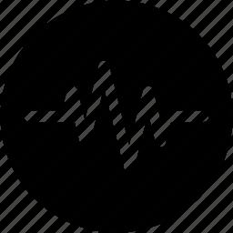 ecg lines, health, healthcare, heartbeat icon