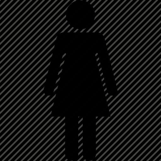 female, girl, human, people, user, woman, women icon