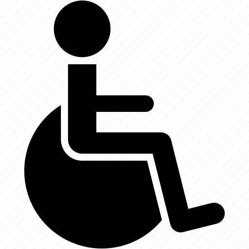 aid, disable, disabled, handicap, healthcare, patient icon