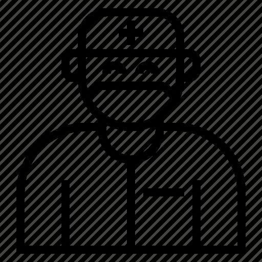 avatar, doctor, healthcare, medical, surgeon icon